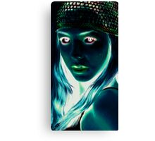 black light technique/inverted Canvas Print