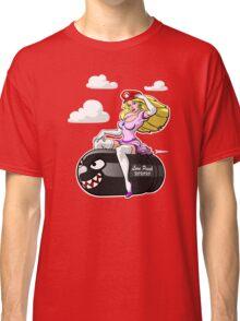 Princess Peach love Bullet Bill Classic T-Shirt