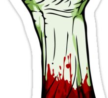 Zombie Fist! Sticker