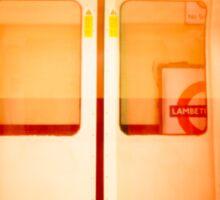 London Underground - Doors Closing Sticker