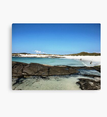 Sanna Beach Canvas Print