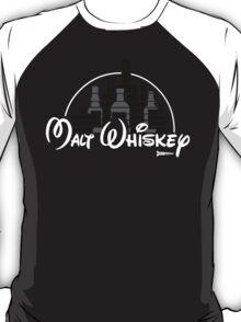 Malt Whiskey not Walt Disney T-Shirt