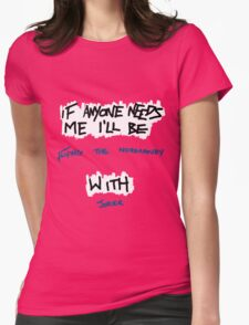 If Anyone Needs Me - Joker Womens Fitted T-Shirt