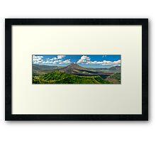 Gunung Batur - Bali, Indonesia Framed Print