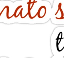 Tomato and Cheese Sticker