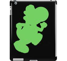Yoshi silhouette iPad Case/Skin
