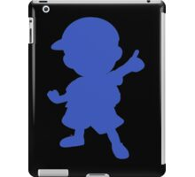 Ness silhouette iPad Case/Skin