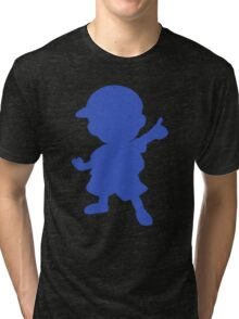 Ness silhouette Tri-blend T-Shirt