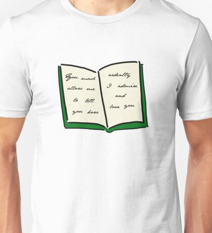 Pride and Prejudicee Unisex T-Shirt