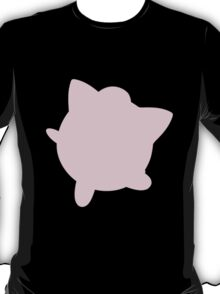 Jigglypuff silhouette T-Shirt