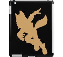 Fox McCloud silhouette iPad Case/Skin