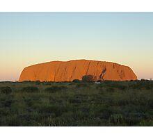 Big Red Rock Photographic Print