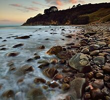 Homunga Bay Sunset Blush by Ken Wright