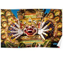 Royal Cremation - Ubud, Bali Poster