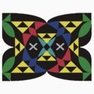 Triforce Kaleidoscope by Charles Caldwell