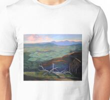 Kinglake- the top of the hill Unisex T-Shirt