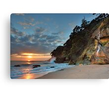 Homunga Bay, Sunrise Waterfall. Canvas Print