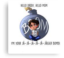 Jaeger Bomb! Canvas Print