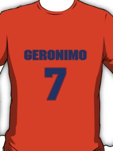 National baseball player Geronimo Pena jersey 7 T-Shirt
