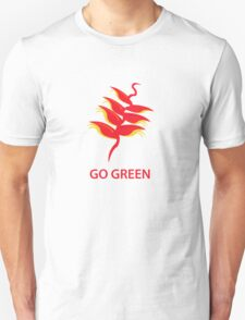 Red Leaves going Green T-Shirt
