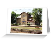 """ Karisek Station Cz."" Greeting Card"
