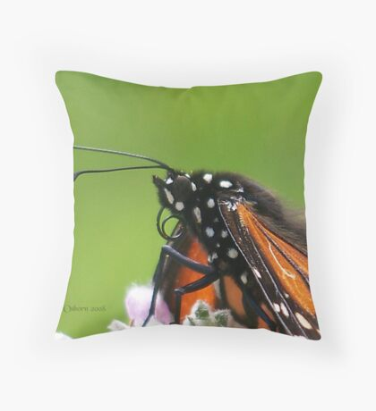Monarch* @ Throw Pillow