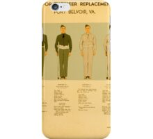 Uniform for Engineers iPhone Case/Skin