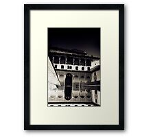 The Other Red Fortress Framed Print