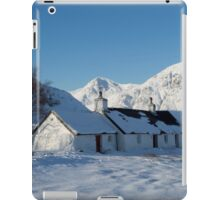 Scottish Highlands in Winter iPad Case/Skin