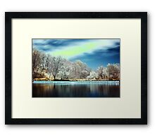 Experiments in Infrared and Saturation Framed Print