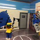 Lego Basketball Court, Lego Rockefeller Center Store, Rockefeller Center, New York City by lenspiro