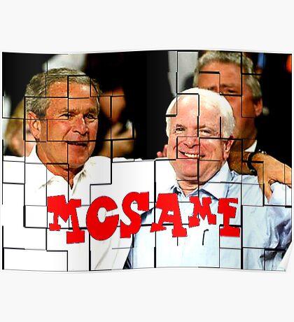 McSame - McCain Poster