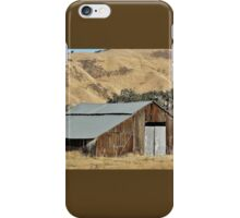 Metal Topped Barn iPhone Case/Skin