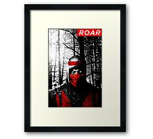 Roar Injustice Framed Print