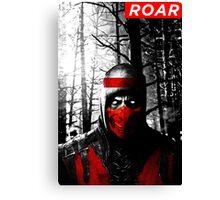 Roar Injustice Canvas Print