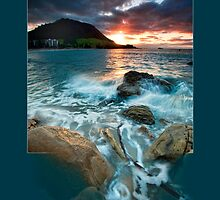 Mauao Sunset Spillway by Ken Wright