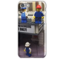 Lego Theater, Lego Rockefeller Center Store, Rockefeller Center, New York City iPhone Case/Skin