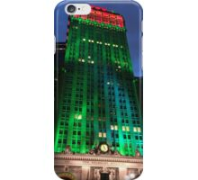 Holiday Colors, Helmsley Building, New York City iPhone Case/Skin