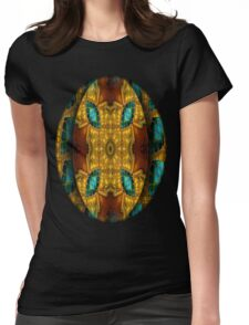 Egipcian Mandala Womens Fitted T-Shirt