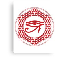 Eye of Horus Creator  Canvas Print