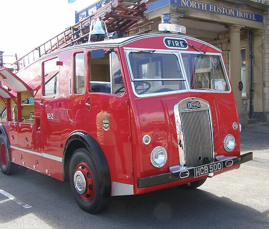 1956 Dennis Fire Appliance by Barry Norton