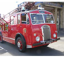 1956 Dennis Fire Appliance Photographic Print