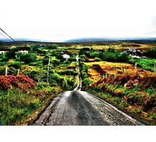 May The Road Rise To Meet You Photographic Print