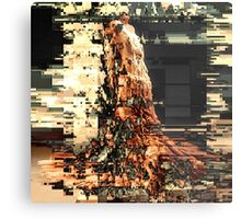 ERUPTION GOWN Metal Print