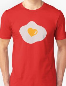 Fried egg heart Unisex T-Shirt