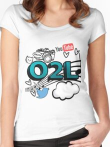 O2L FOREVER GRAPHIC  Women's Fitted Scoop T-Shirt