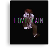 Love Lain. Canvas Print
