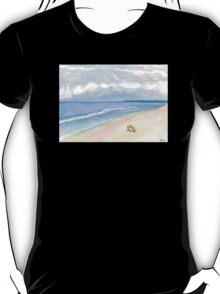 Sunday Morning on Flagler Beach T-Shirt