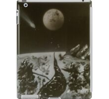 Abstract Winter Landscape iPad Case/Skin