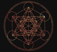 Metatron's Cube [The Red Moon] | Sacred Geometry by SirDouglasFresh